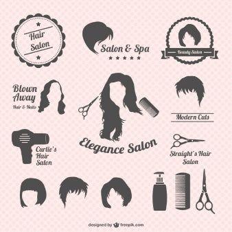 Hair salon graphics