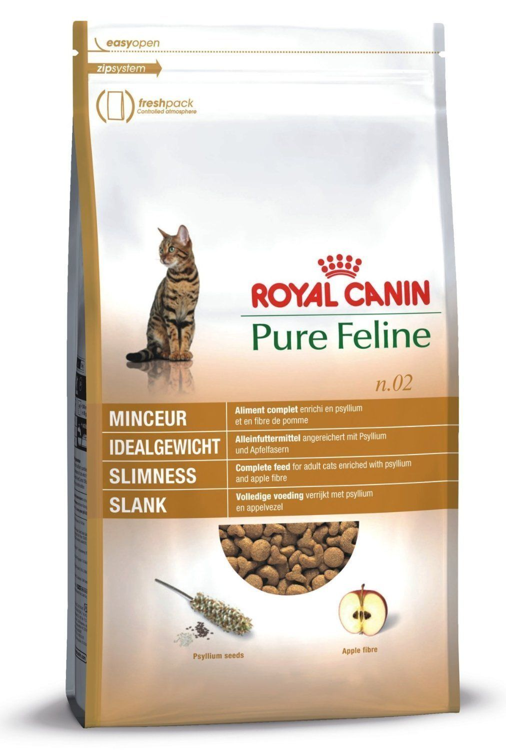 RC Pure Feline No2 Slimness 1.5kg (1) Cat food allergy