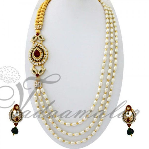 Pearls design side pendant httpvadaamalarsingle side pearls design side pendant httpvadaamalarsingle mozeypictures Images