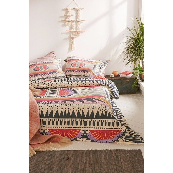 DENY Designs Holli Zollinger For DENY Namais Duvet Cover (180 AUD) ❤ liked on Polyvore featuring home, bed & bath, bedding, duvet covers, multi, deny designs, twin xl duvet insert, king size bedding, deny designs bedding e king duvet insert