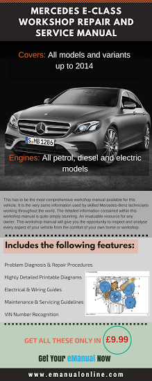 mercedes-benz e320 service repair manual