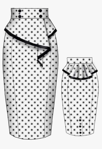 BlueBerryHillFashions: Rockabilly Peplum Dress designs By:www ...