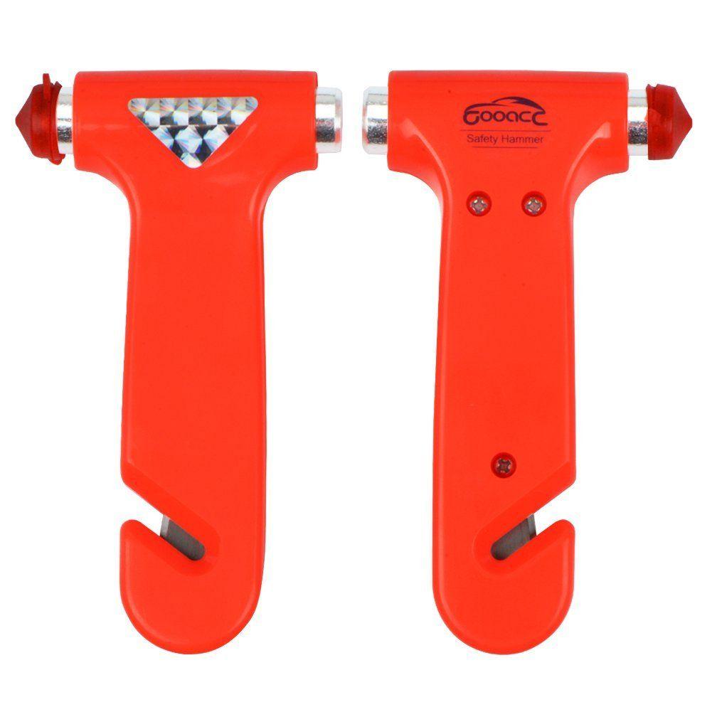 GOOACC Seatbelt Cutter Window Breaker Emergency Escape Tool 2 Pack