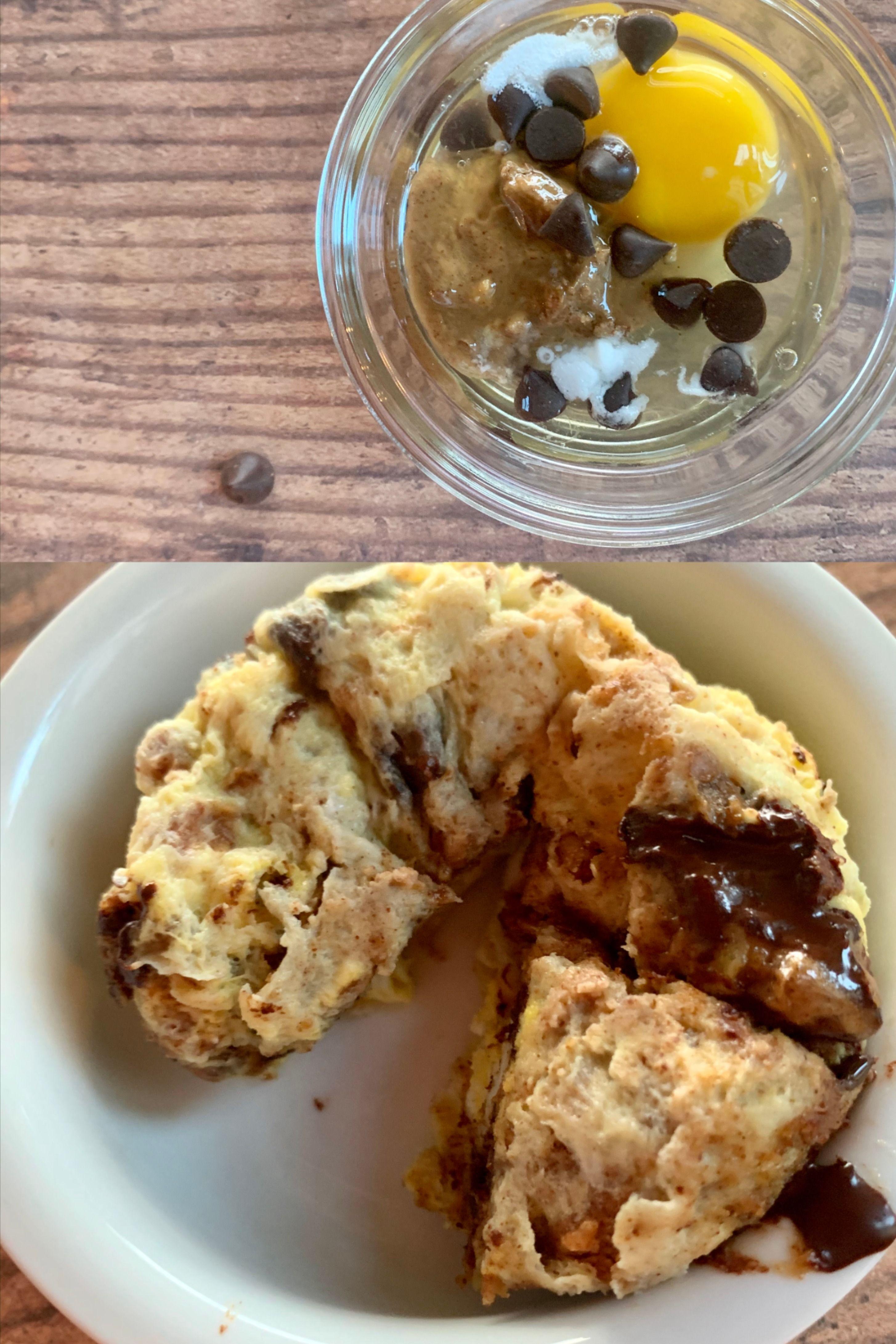 Keto chocolate chip mug cake | Recipe (With images) | Keto ...