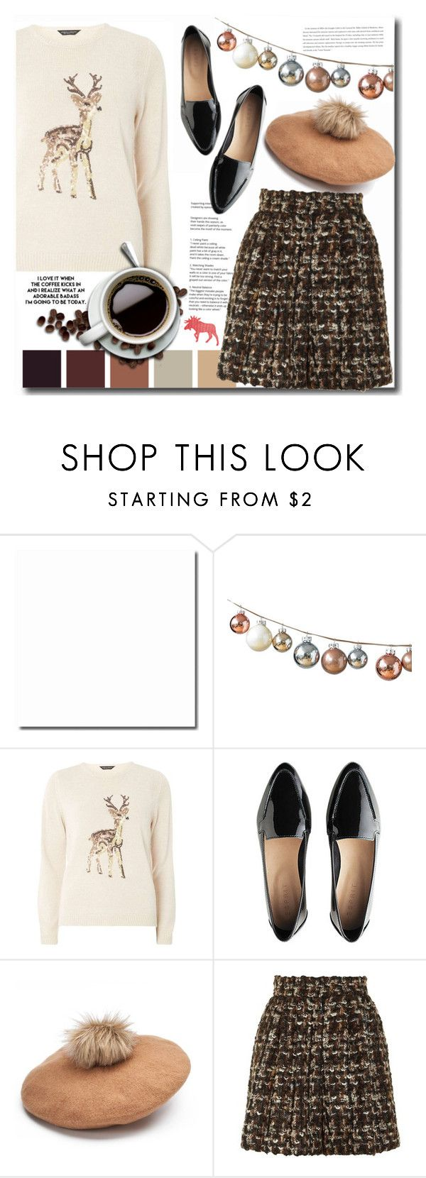 """""""Coffee Break"""" by interesting-times ❤ liked on Polyvore featuring Dorothy Perkins, Coffee Shop and Dolce&Gabbana"""