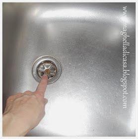 Maghella di casa pulire la cucina i segreti trucchi e - Pulire tubi lavandino cucina ...