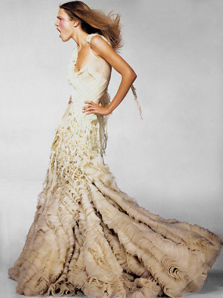 "erichcanvogue: ""Oyster Dress,"" silk gown,... | S T Y L E | Pinterest ..."