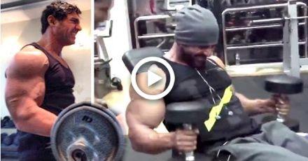 All John Abrahams Intense Gym Bodybuilding Workout Videos #fitness