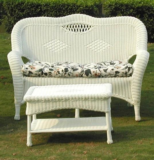 All About Wicker Wicker Patio Furniture Glider Cushions Clearance Outdoor Furniture