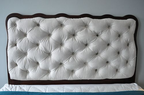 Diamond Tufted Headboard Diy Love This Here Are The Links To 3