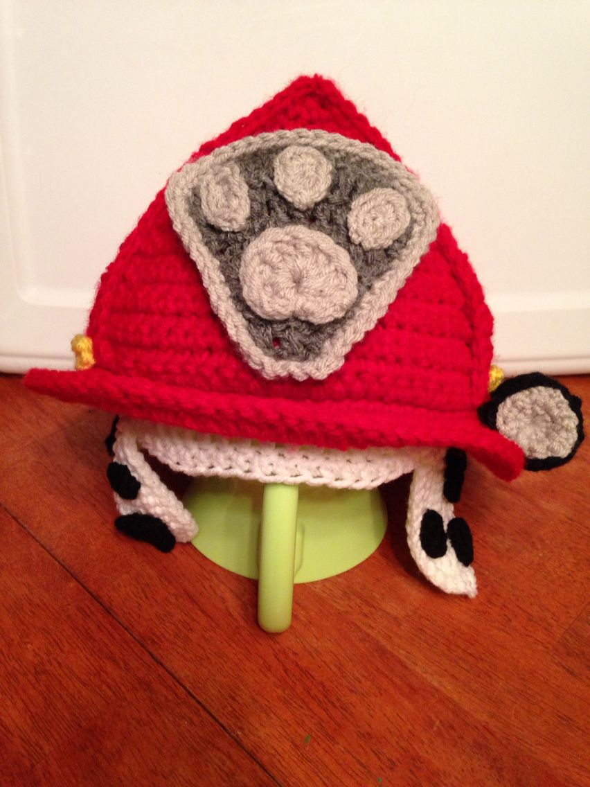 Marshall from paw patrol | My Crochet items | Pinterest | Hauben ...