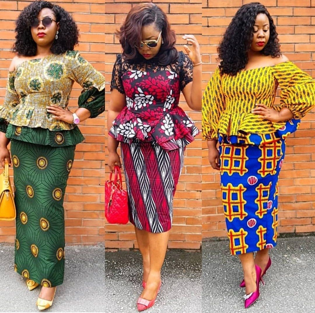 Stunning And Surprising New Looks: PRETTY ANKARA STYLES 2020 FOR BEAUTIFUL LADY LOOK FOR NEW