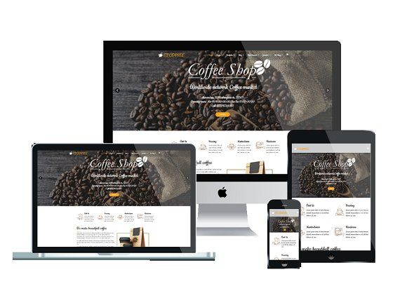 ET Coffee - Coffee Website Template   Coffee coffee, Template and ...