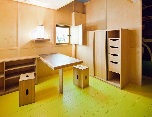 Le Corbusier\u0027s Cabanon Arquitectura, Diseño muebles y Arquitectos