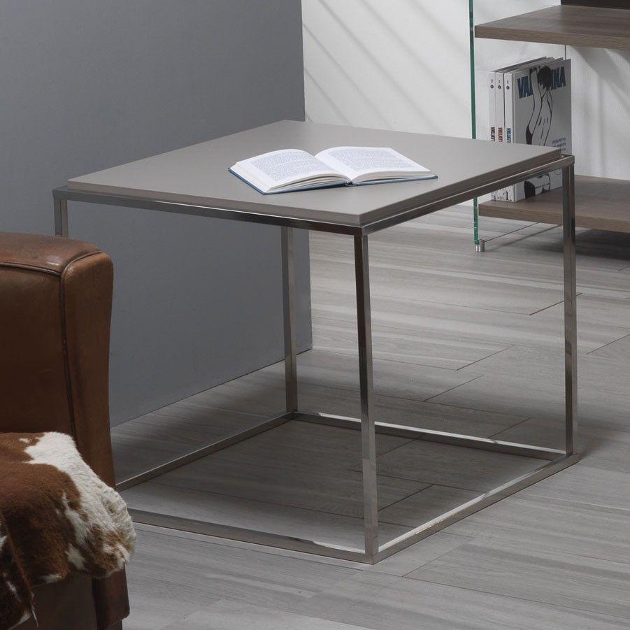 Tavolino da salotto quadrato Lamina Lamina fa parte di una ...