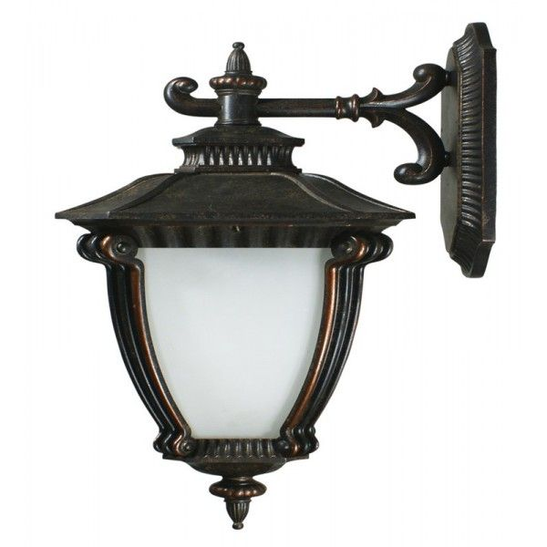 Grove External Wall Light Antique Bronze Large Wall Lighting Wall Lights Sconces