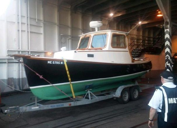 Royal Lowell Lobster Boats Design Lobster Boat Boat Design Fishing Boats