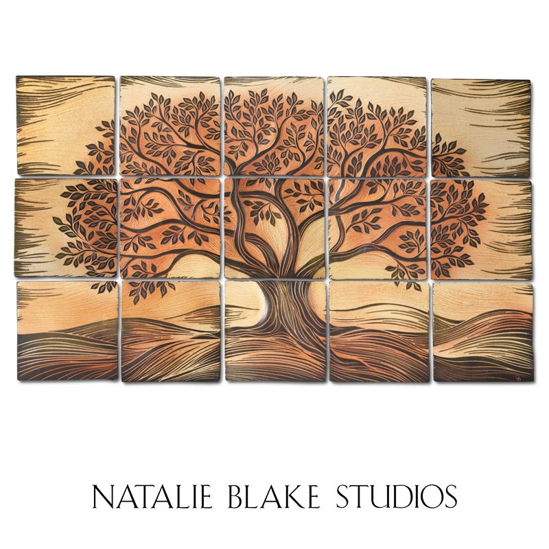 Woodwinds Autumn Tree of Life ~ for sale online at Natalie Blake ...
