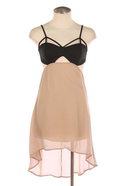 Adorable Stacy Ann Cutout Dress