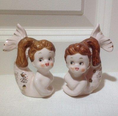 Vintage Japanese MERMAIDS