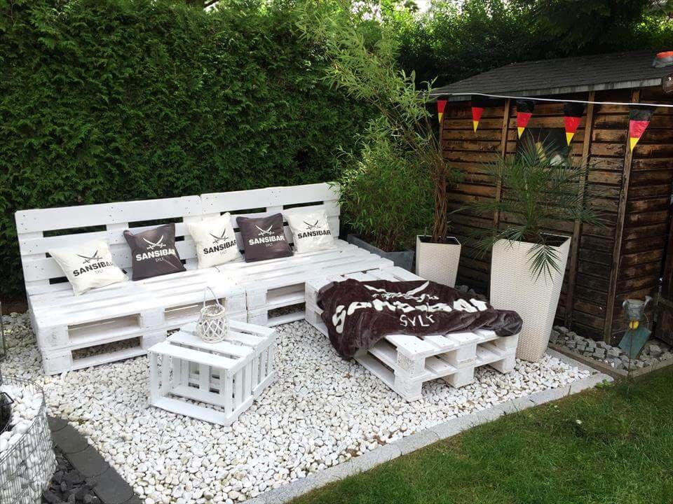 31 Idee Per Arredare Il Giardino Con I Pallet Mobili Da Giardino