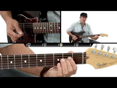 How to Play Guitar #3 - E Minor Chord - Beginner Guitar Lesson ...
