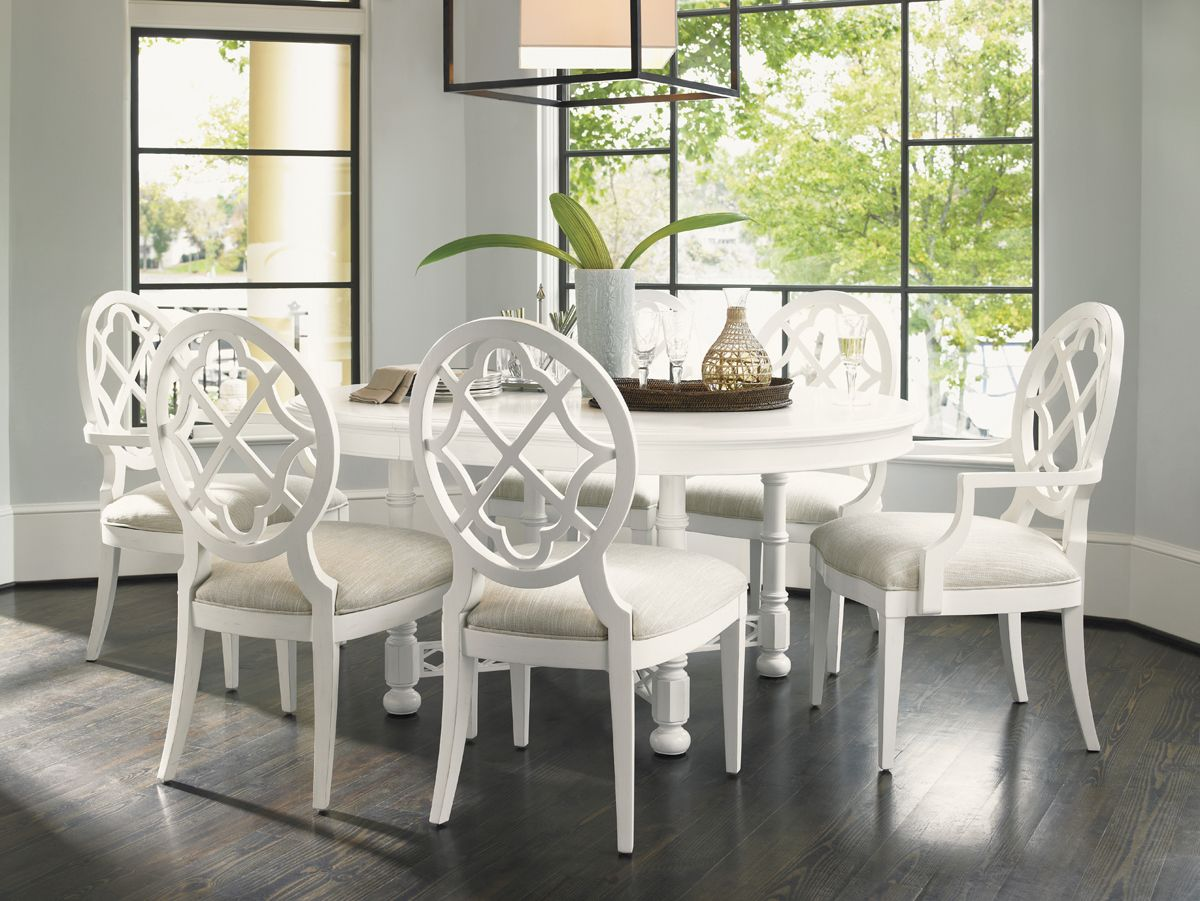 Comedor Round Dining Table Sets Solid Wood Dining Chairs
