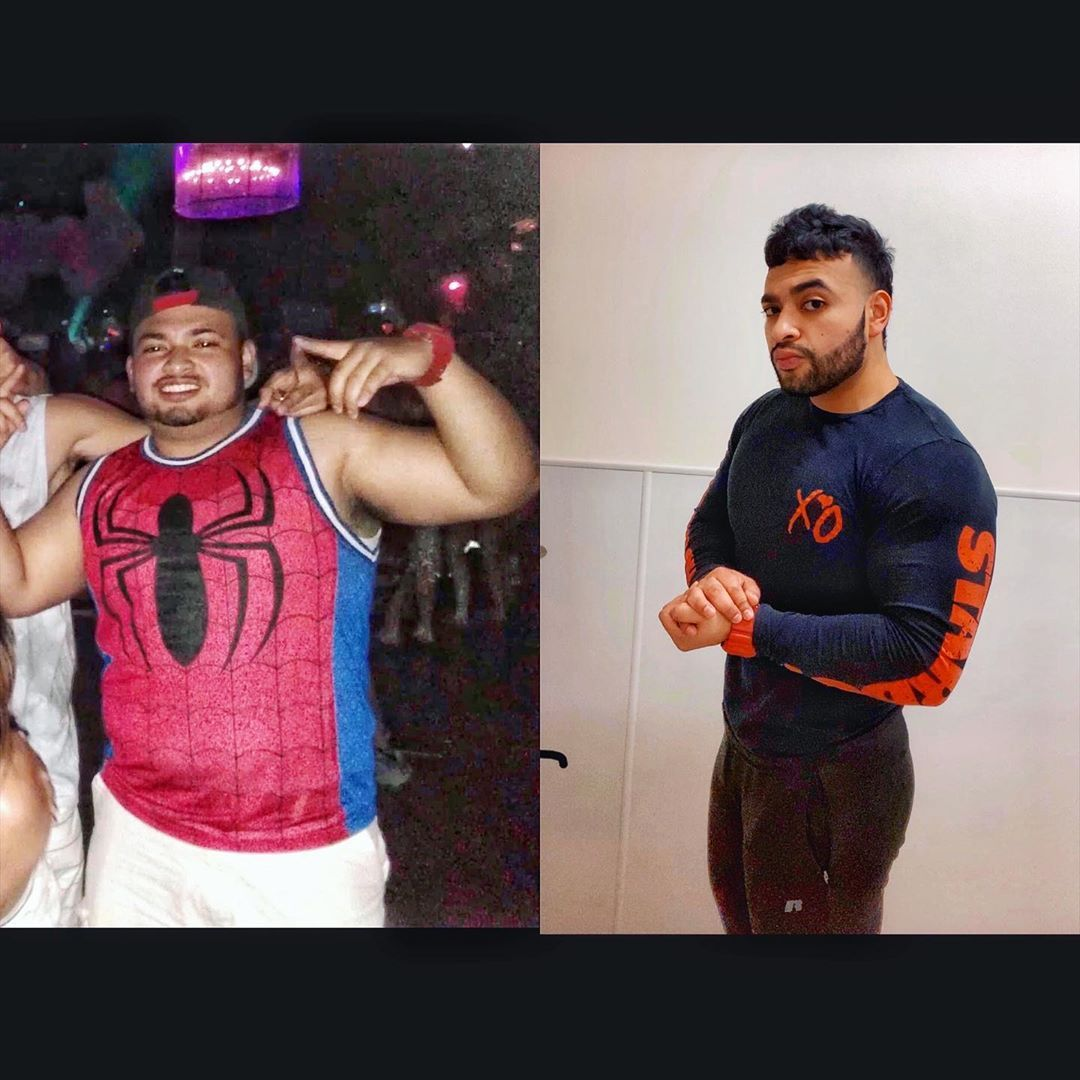 4 years and the peak hasn't even been reached yet . . . #fitness #transformation #fitfam #bodybuildi...