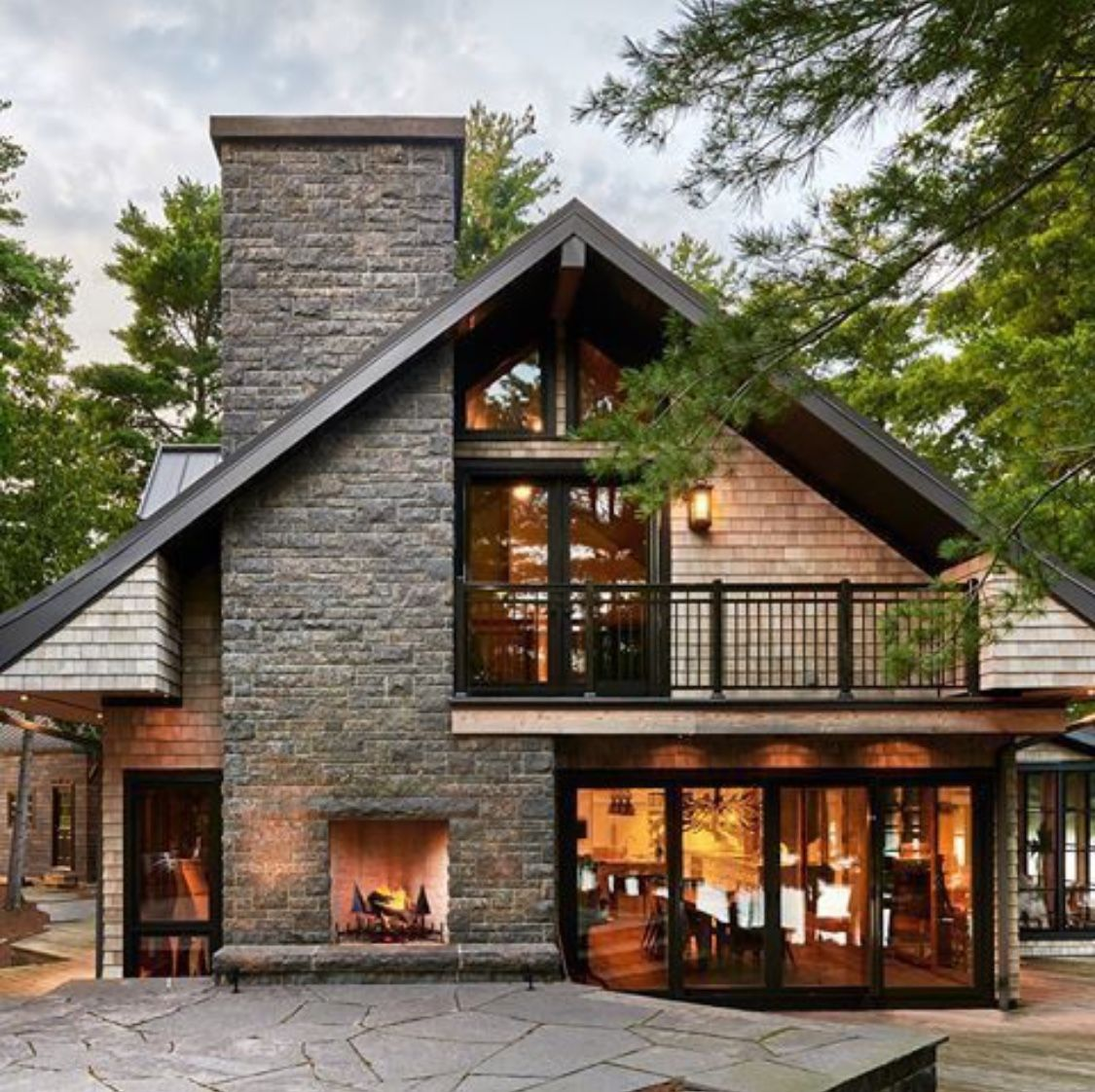 Exterior Rustic Cabin Style In 2020 Cottage Renovation House Designs Exterior Farmhouse Exterior Colors