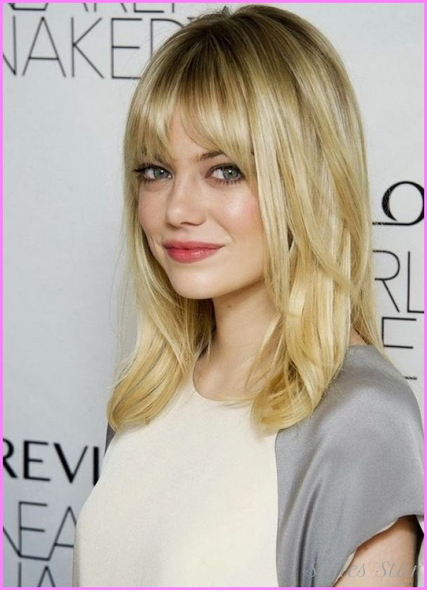 Nice Long Haircuts For Girls With No Bangs Stars Style Pinterest