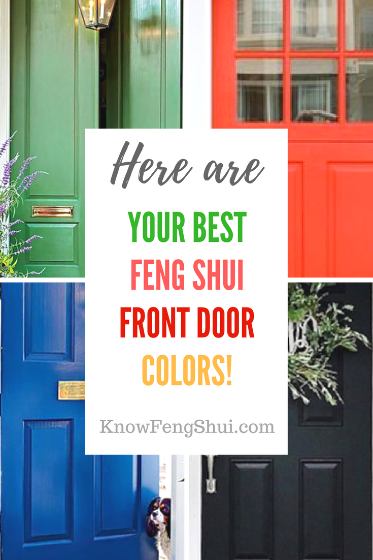 Best Feng Shui Colors For Your Front Door Are Here Decorate My