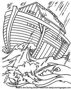 noah s ark bible coloring sheets church pinterest bible stories