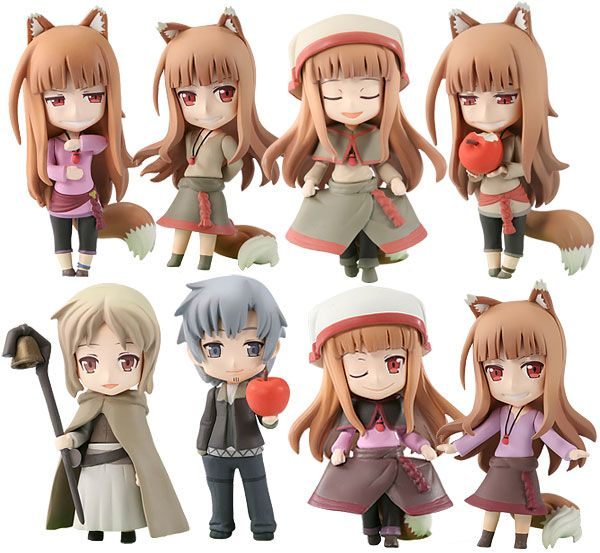 re-run In STOCK Nendoroid Spice and Wolf Holo 728 Action Figure