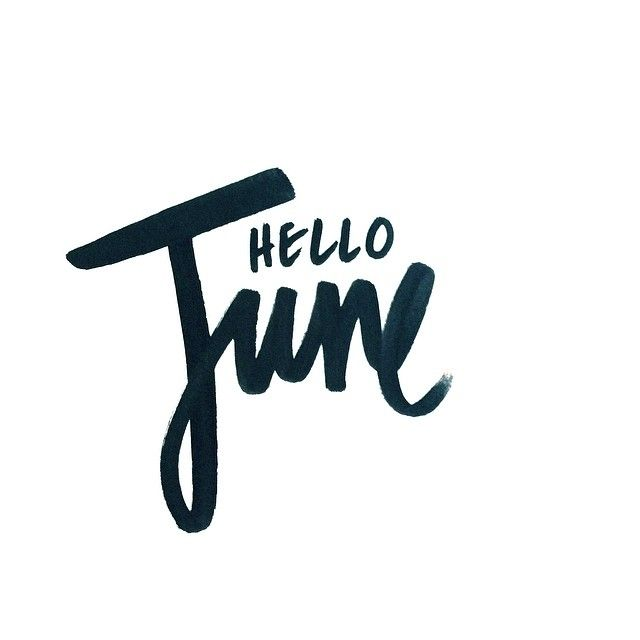 just wanted to wish everyone a happy first day of June