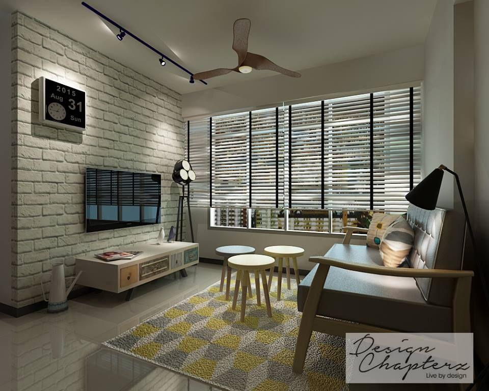 Design Chapterz Bright Modern Scandinavian Living Area