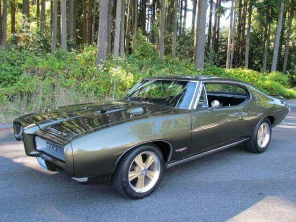 1968 pontiac gto.