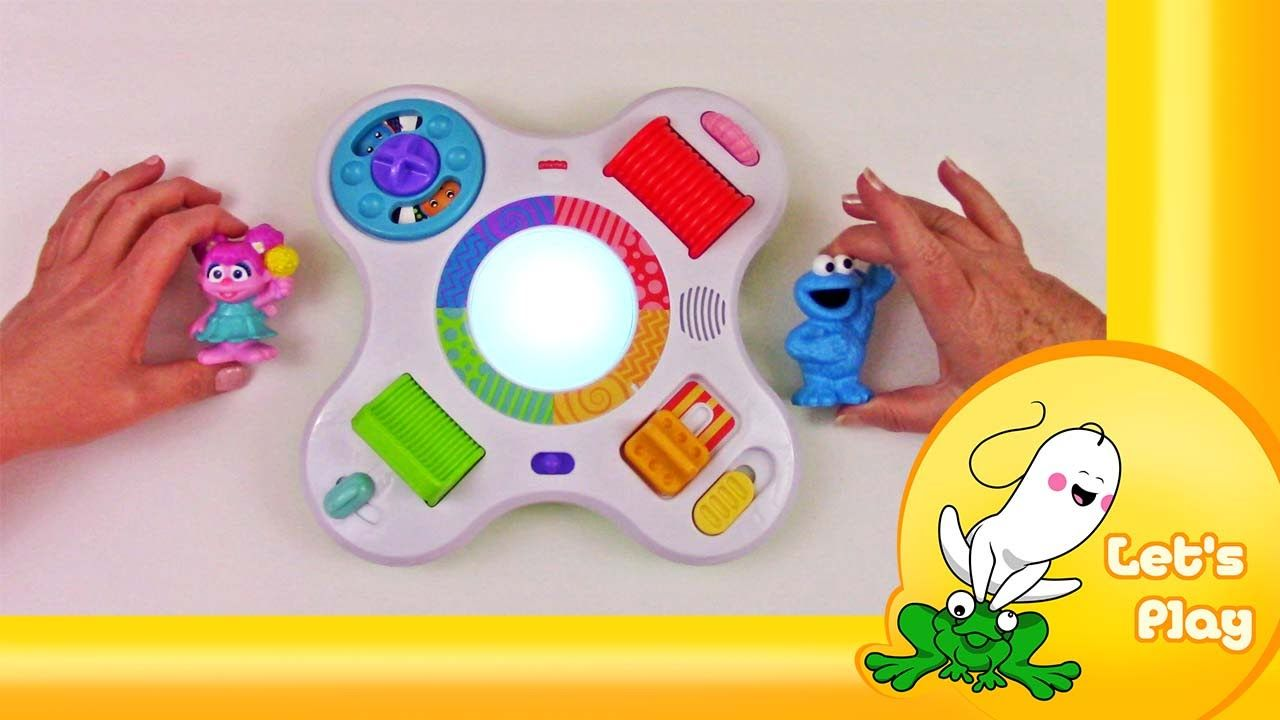 Check out the Bright Beats Activity Center from Fisher Price.