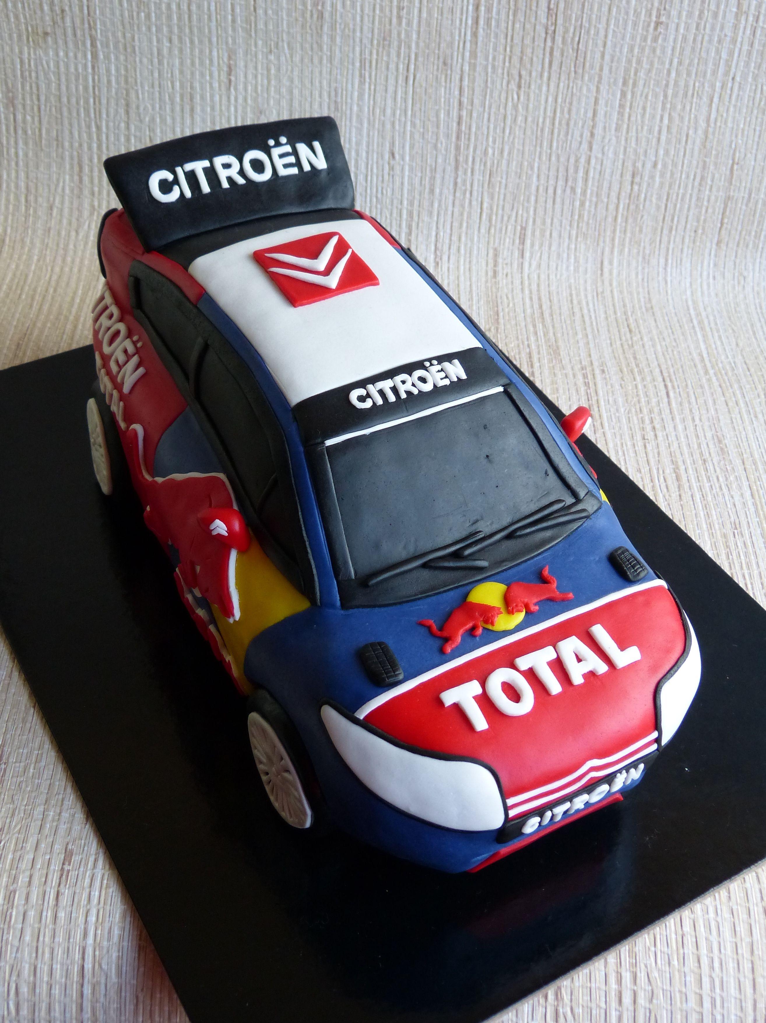 Rally Citroen Wrc Www Facebook Com Havesomesugar Torte