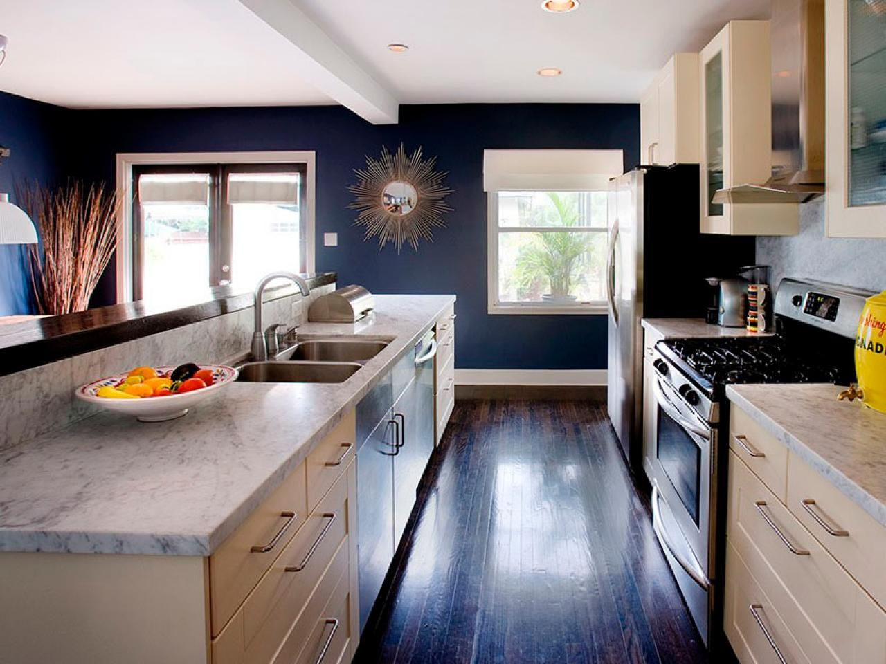 One Wall Galley Kitchen Design top 6 kitchen layouts | design a layout