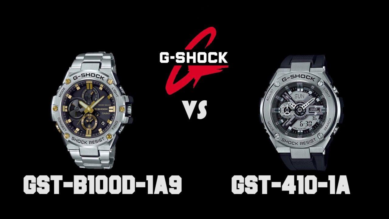 Comparison 1a B100d Shock Video Casio 1a9 Vs410 G Gst Watches 0PkN8nwOX