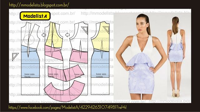 PEPLUM | Patterns, Sewing patterns and Pattern drafting