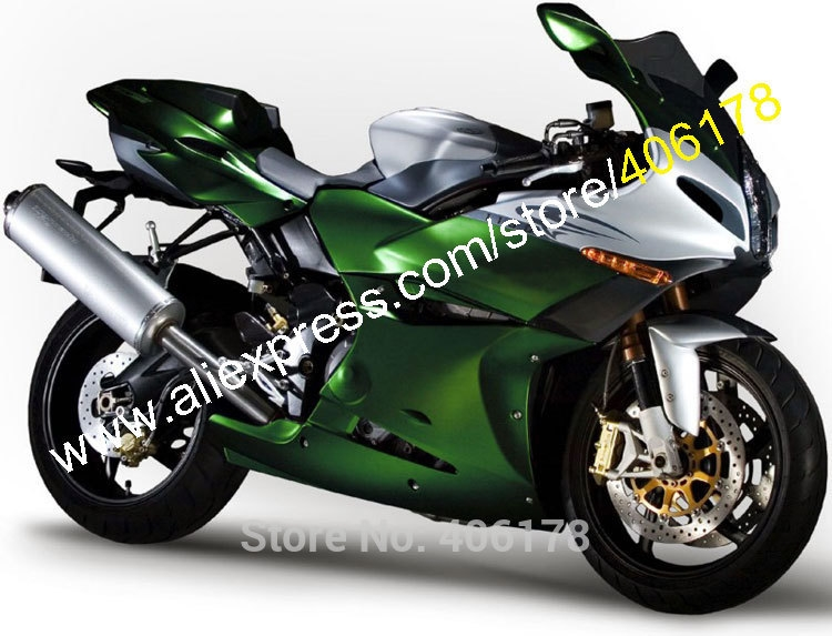 540.55$  Buy here - http://aliksx.worldwells.pw/go.php?t=32239159573 - Hot Sales,Fashion Fairings For Benelli Tornad Tre 1130 900 2004-2013 Green Silver ABS Motorcycle Fairings kit Moto Parts 540.55$