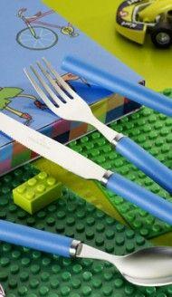 #Blue kid's cutlery set | Villeroy & Boch