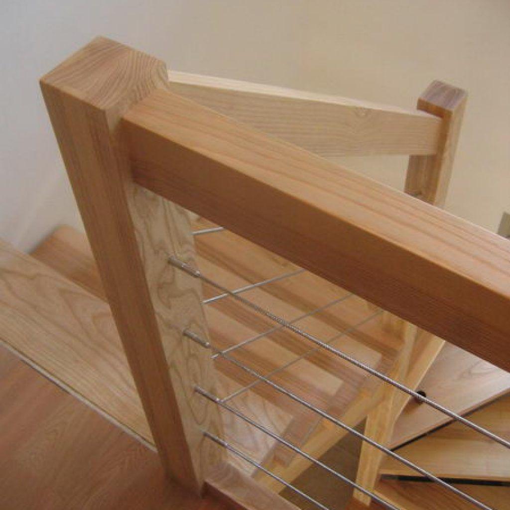 09 03 Escalier 2 4 Tournant Rampe Sur Rampe Avec Cremaillere