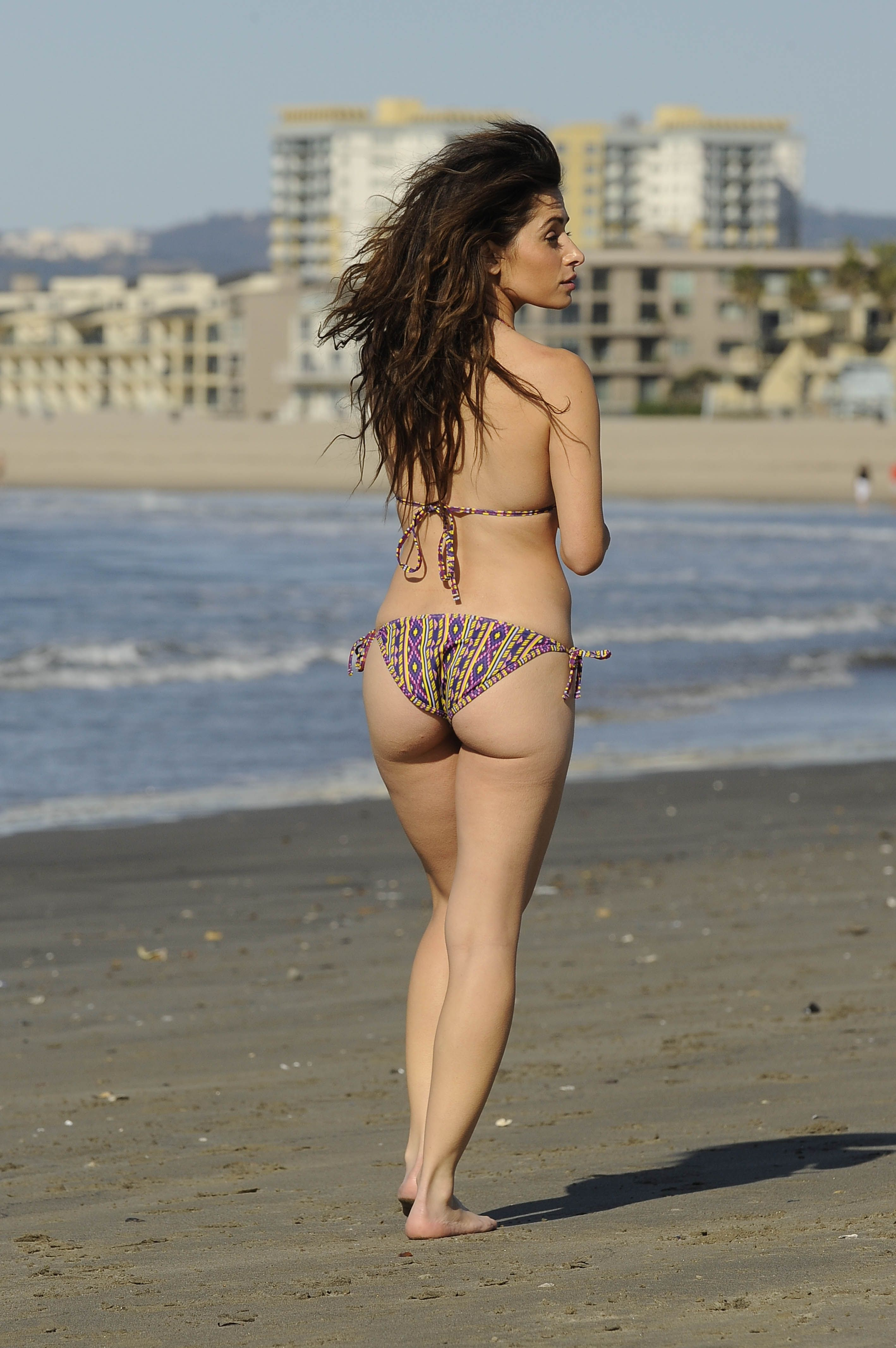 Amy Acker Bikini sarah shahi wow! jaw dropping in her much admired bikini