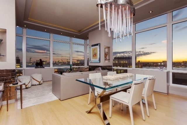StreetEasy: 450 West 17th St. #2009 - Condo Apartment Sale at The Caledonia in West Chelsea, Manhattan #diningroom #wineanddine #homedecor #dreamhome #luxuryhome #NYC