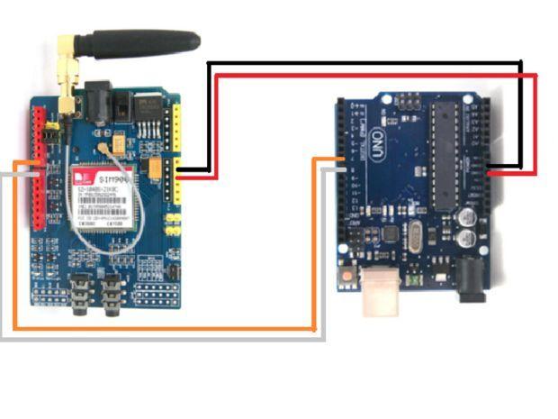 Sim900 Gsm Gprs Shield Con Arduino Uno Arduino