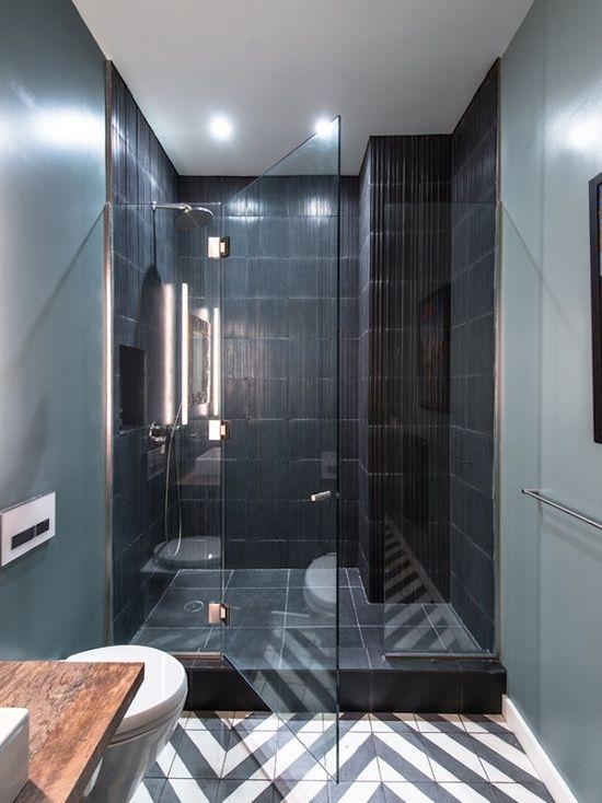 la salle de bain moderne une salle de bain qui a de classe - Salle De Bain Petite Et Moderne