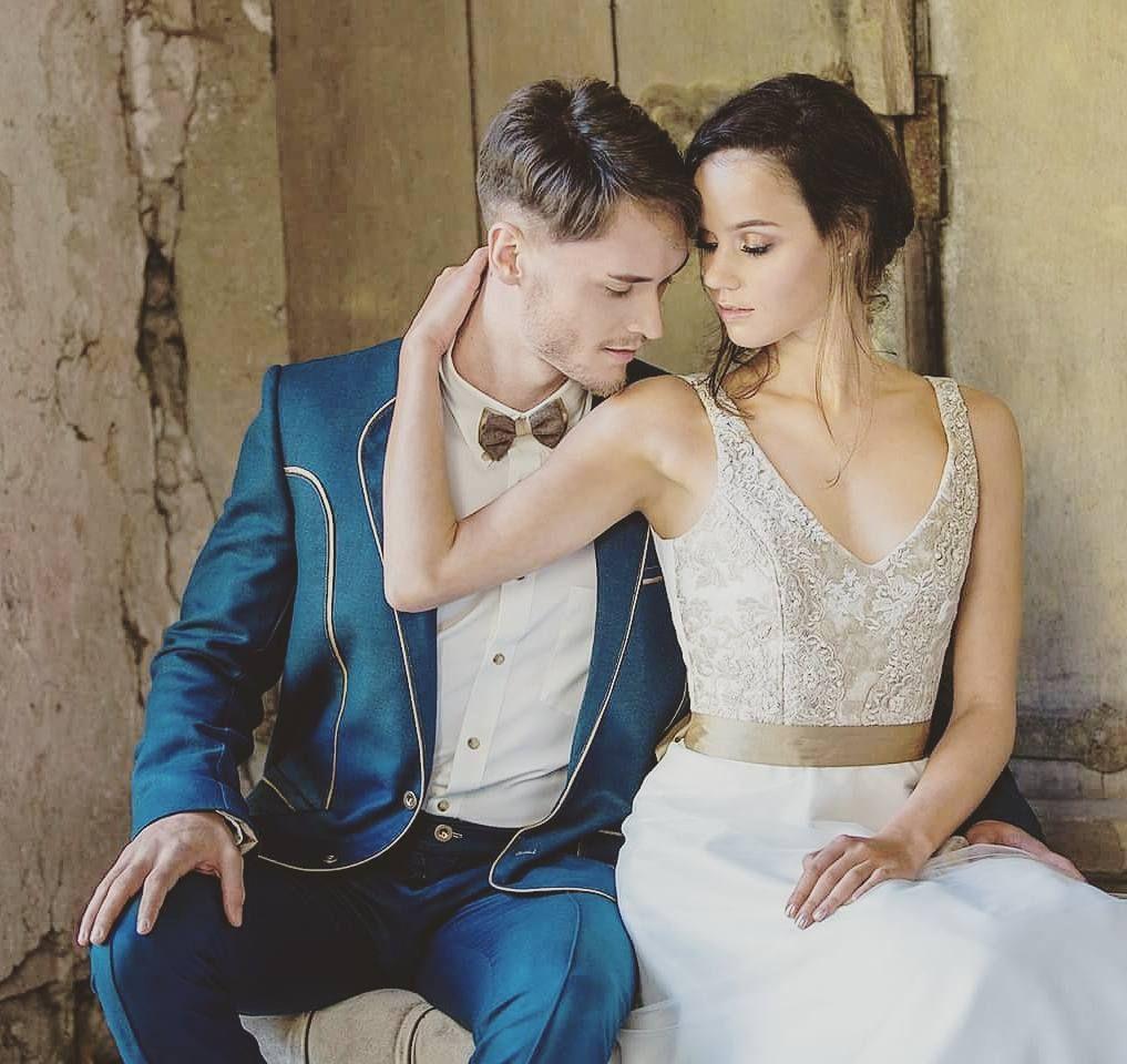 Brautkleid und Anzug by Tianvantastique.com #loverstyle #couture ...