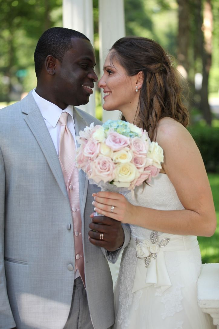 Recent events in interracial marriage